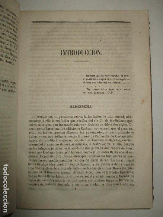 Libros antiguos: GUIA-CICERONE DE BARCELONA,..BOFARULL I BROCÁ, Antonio de. 1855. - Foto 3 - 194512310