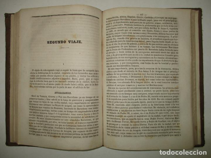 Libros antiguos: GUIA-CICERONE DE BARCELONA,..BOFARULL I BROCÁ, Antonio de. 1855. - Foto 5 - 194512310