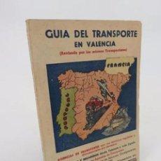 Libros antiguos: GUÍA DEL TRANSPORTE EN VALENCIA. BAYARRI CAMPAÑA 1953 1954.. BAYARRI, 1953. Lote 194605470