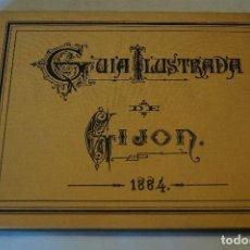 Libros antiguos: GUIA ILUSTRADA DE GIJÓN. . Lote 194750851