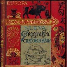 Libros antiguos: NUEVA GEOGRAFÍA UNIVERSAL. Lote 194766975