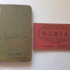 Libros antiguos: PIRINEU CATALÀ - VALL DE RIBES - ALTES VALLS DEL FRESER 1914 + ÁLBUM 12 VISTES NÚRIA. Lote 194992633