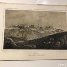 Libros antiguos: PARCERISA-RECUERDOS Y BELLEZAS DE ESPAÑA-VISTA DE TOLEDO. Lote 194995457
