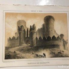 Libros antiguos: PARCERISA-RECUERDOS Y BELLEZAS DE ESPAÑA-CASTILLO DE BELMONTE -CUENCA. Lote 194995881
