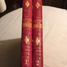 Libros antiguos: LA TIERRA Y EL HOMBRE. FEDERICO DE HELLWALD. MONTANER Y SIMÓN EDITORES 1886. Lote 194998492