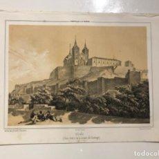Libros antiguos: PARCERISA-RECUERDOS Y BELLEZAS DE ESPAÑA-CASTILLO DE UCLÉS - CUENCA . Lote 194999872