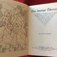 Libros antiguos: AUSTRIA DE LA ACTUALIDAD. EL CORAZÓN DE EUROPA, 1930, ILUSTRADO. ENVIO GRÁTIS.. Lote 195020302
