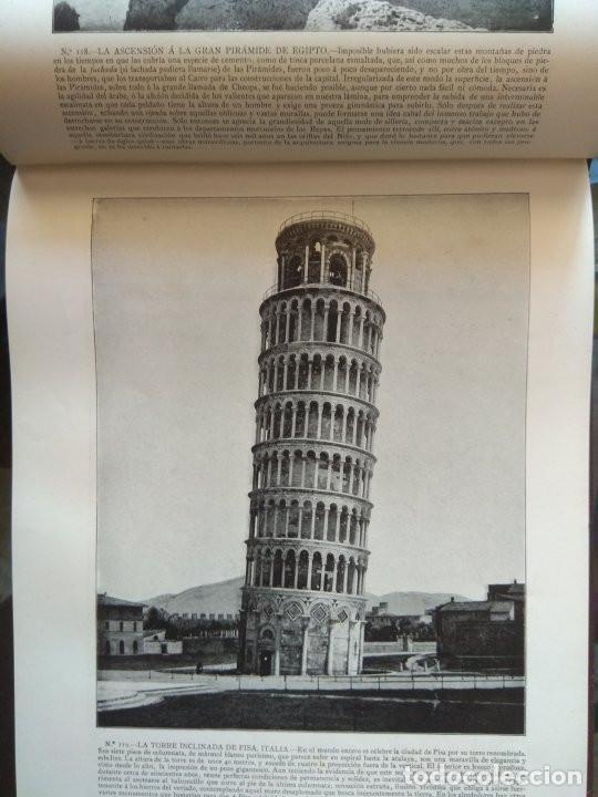 Libros antiguos: Portfolio de fotografías de las ciudades, paisajes y cuadros célebres - Año 1896 - Foto 7 - 195084135