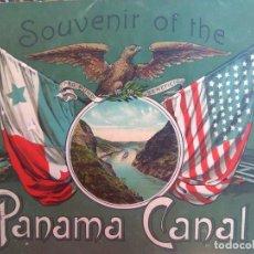 Libros antiguos: SOUVENIR OF THE PANAMA CANAL. Lote 195088552