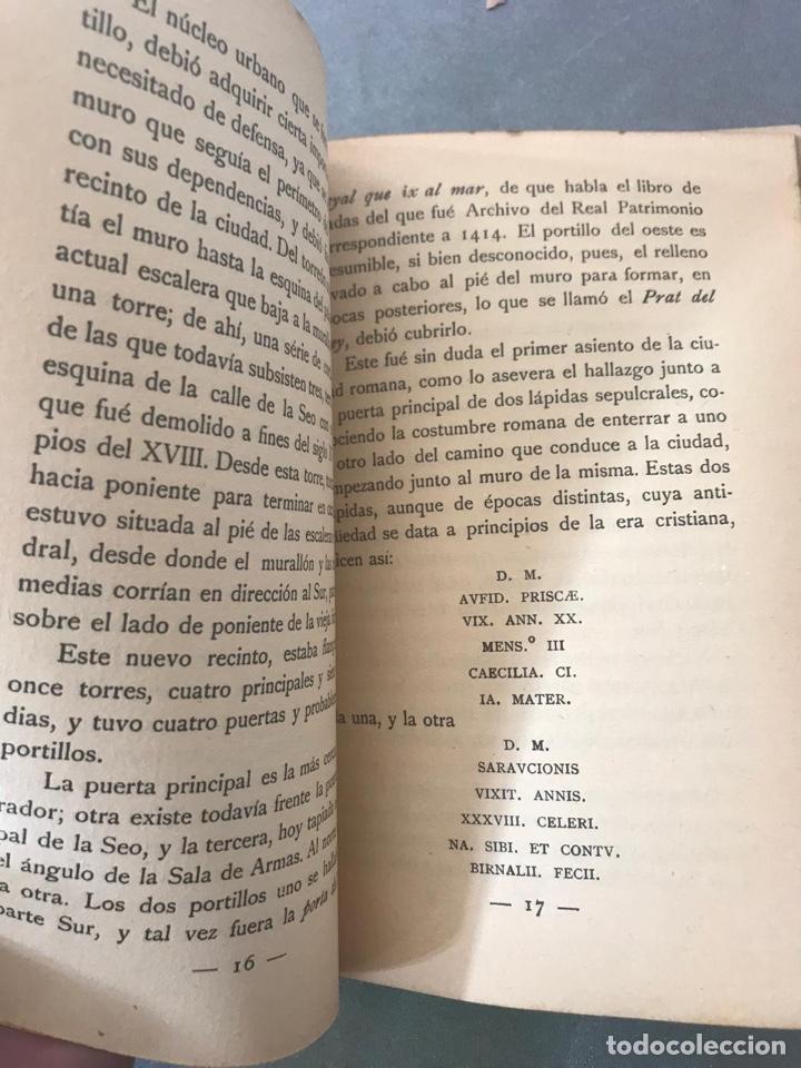 Libros antiguos: Mallorca ciutat. Diego Zaforteza y Musoles. 1ª edición. Palma de Mallorca 1932 - Foto 2 - 195094251