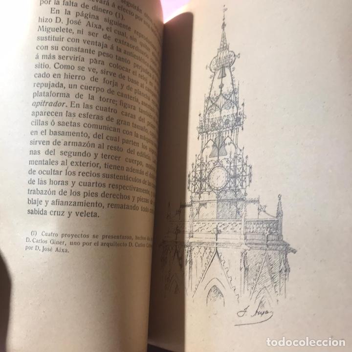 Libros antiguos: Valencia. El Miguelete y sus campanas. Lazaro Floro. Valencia - 1909. - Foto 3 - 195094307