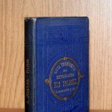Libros antiguos: PARIS-DIAMANTE. NUEVA GUIA POR... - ADOLPHE JOANNE. Lote 195207217