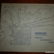 Libros antiguos: ARANJUEZ CARTILLAS EXCURSIONISTAS ---TORMO--VI 1929 MADRID . Lote 195245593