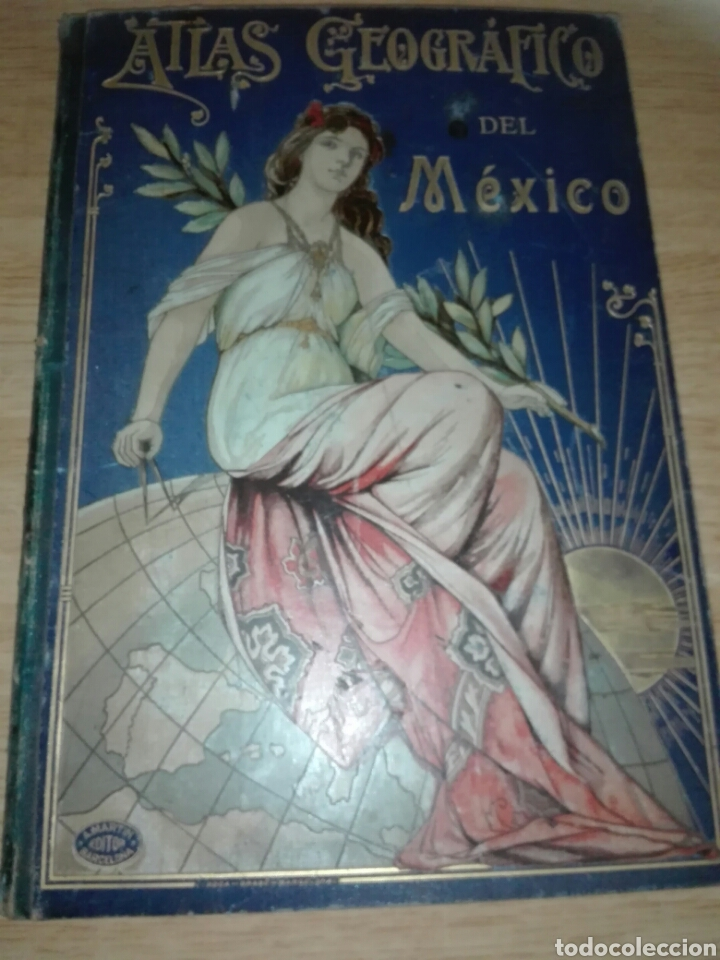 ATLAS GEOGRAFICO IBERO-AMERICANO DEL MEXICO (Libros Antiguos, Raros y Curiosos - Geografía y Viajes)