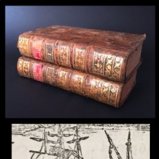 Libros antiguos: AÑO 1800 - GEOGRAFÍA MODERNA - TRATADO DE LA ESFERA - LATITUDES Y LONGITUDES - OBRA COMPLETA.. Lote 195345185