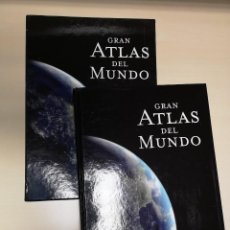 Libros antiguos: GRAN ATLAS DEL MUNDO. NATIONAL GEOGRAPHIC. RBA. CON TAPA DURA Y CAJA. Lote 195353568