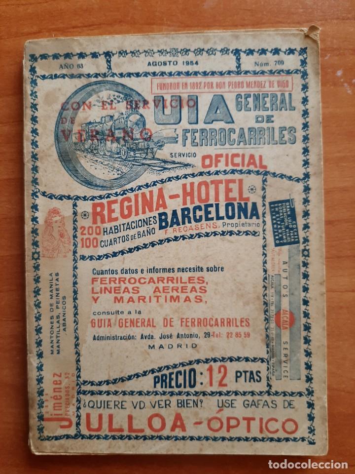 1954 GUÍA GENERAL DE FERROCARRILES (Libros Antiguos, Raros y Curiosos - Geografía y Viajes)