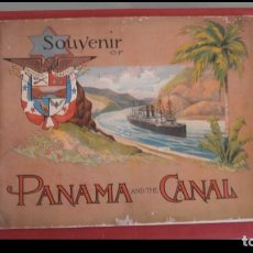 Libros antiguos: SOUVENIR OF PANAMA AND THE CANAL.. Lote 195420065