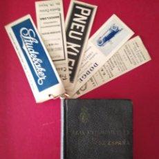 Libros antiguos: ANUARIO DEL REAL AUTOMOBIL CLUB DE ESPAÑA 1917 552 NUMEROSAS PUBLICIDAD . Lote 195492660