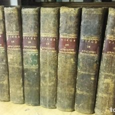 Libros antiguos: BARTHELEMI: VIAGE DEL JOVEN ANACHARSIS A LA GRECIA A MEDIADOS DEL SIGLO QUARTO. 7 TOMOS. COMPLETA. . Lote 196009265