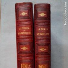 Libros antiguos: LA TIERRA Y SUS HABITANTES. VV.AA. 1878. Lote 196311355