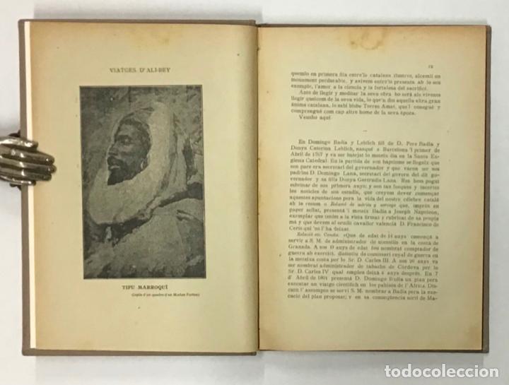 Libros antiguos: VIATGES DE ALI-BEY EL-BABBASSI (Domingo Badia y leblich) per África y Asia durant los anys 1803... - Foto 4 - 196647518