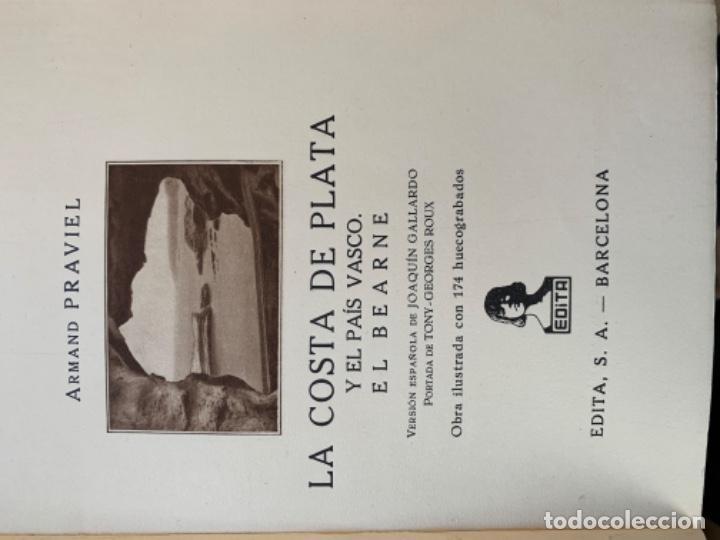 Libros antiguos: La costa de plata y el país vasco - Foto 6 - 197081772