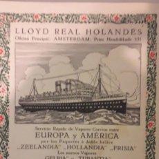 Libros antiguos: LIBRO LLOID REAL HOLANDÉS POR M.J. BRUSSE ANTIGUO Y MUY RARO LIBRO UN VIAJE EN HOLANDA. Lote 161915314