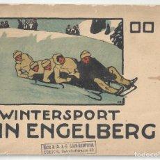Livros antigos: WINTERSPORT IN ENGELBERG. FIRT CLASS WINTER RESORT- SUIZA. Lote 197634976