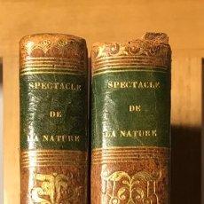 Libros antiguos: 1837 CHARLES DELATTRE, LE ESPECTACLE DE LA NATURE ET DE L'INDUSTRIE HUMAINE.. Lote 197884035