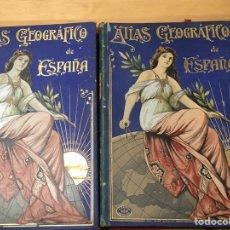 Libros antiguos: ATLAS GEOGRÁFICO DE ESPAÑA. DESCRIPCIÓN GEOGRÁFICA Y ESTADÍSTICA. ESCUDÉ BARTOLI. 2 TOMOS. Lote 198157496