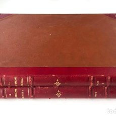 Livros antigos: LA ILUSTRACIÓN ARTÍSTICA, AÑO 1909. EL AÑO COMPLETO EN DOS VOLÚMENES. 38,5X29 CM.. Lote 198405803
