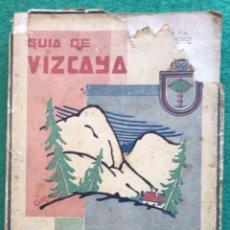Libros antiguos: GUÍA DE VIZCAYA. 1931-32. Lote 198556882