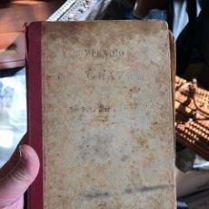 Libros antiguos: LIBRO COMPENDIO DE GEOGRAFÍA 1906, MAL ESTADO. Lote 198945917