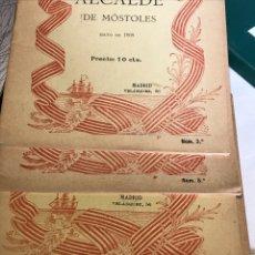 Libros antiguos: LECTURAS PATRIÓTICAS GLORIAS DE ESPAÑA 13 NÚMEROS. Lote 198978808