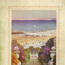 Libros antiguos: BATHING AND SEASIDE CLIMATE RESPORT IN ITALY - ITALIAN STATE RAILWAYS ( AÑO 1928). Lote 200103463