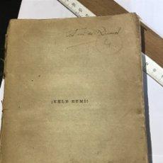 Libros antiguos: KELB RUMI UN ESPAÑOL CAUTIVO DE LOS RIFEÑOS EN 1921. Lote 200107462