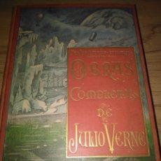 Libros antiguos: VERNE JULIO.OBRAS COMPLETAS.MADRID SÁENZ DE JUBERA. Lote 200375170