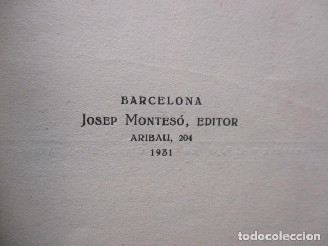 Libros antiguos: BOSTON BARCELONA. ENRIC BLANCO. SABADELL 1931. LIBRO DE VIAJES. CATALAN - Foto 7 - 202483576