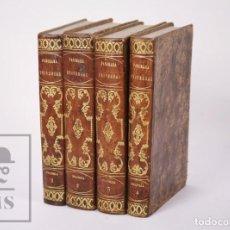 Livros antigos: 4 TOMOS PANORAMA UNIVERSAL. HISTORIA DE LA FRANCIA, PF. LE BAS - GRABADOS - IMP. DEL NACIONAL, 1841. Lote 203114565