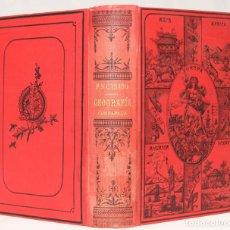 Livres anciens: ELEMENTOS DE GEOGRAFÍA COMPARADA POR EL ILMO. SR. D. FÉLIX SÁNCHEZ Y CASADO. MADRID. 1896.. Lote 203296882