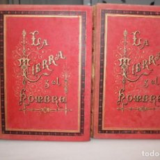 Libros antiguos: LA TIERRA Y EL HOMBRE POR FEDERICO DE HELLWALD.MONTANER Y SIMON 1886. VER FOTOS. UNA JOYA.2 TOMOS. Lote 203397177