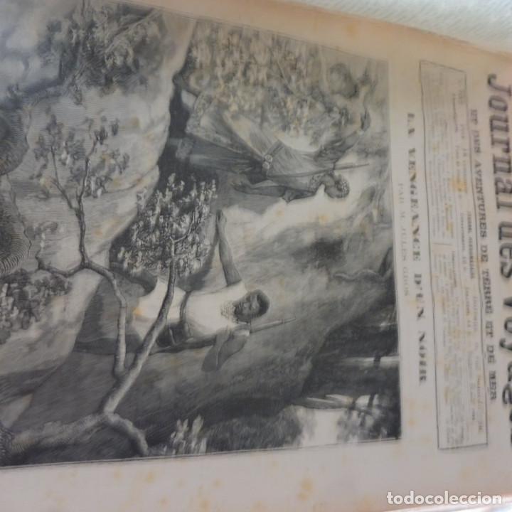 Libros antiguos: Journal des voyages TOMO 1891 ENERO- JUNIO VIAJES GRABADOS Y MAPAS - Foto 4 - 203604547