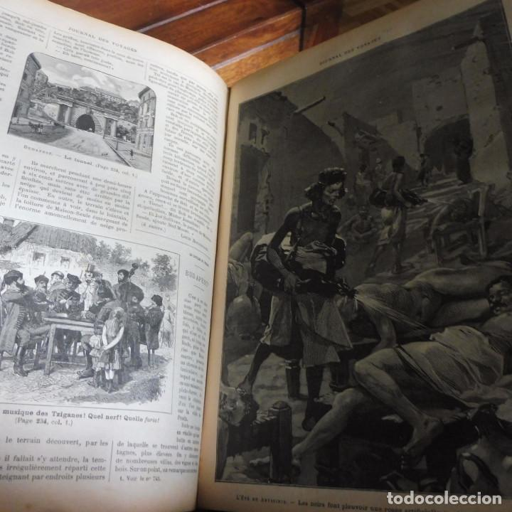 Libros antiguos: Journal des voyages TOMO 1891 ENERO- JUNIO VIAJES GRABADOS Y MAPAS - Foto 5 - 203604547