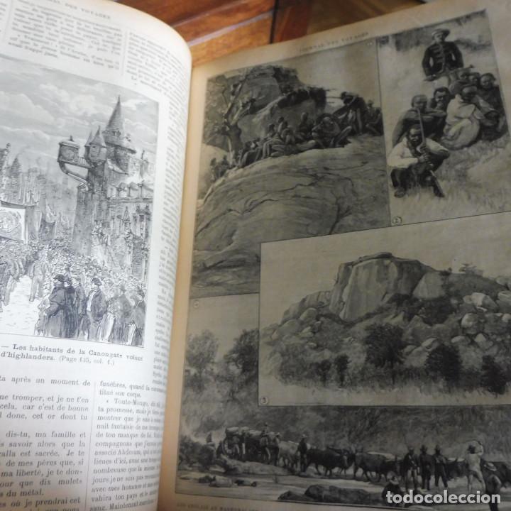 Libros antiguos: Journal des voyages TOMO 1891 ENERO- JUNIO VIAJES GRABADOS Y MAPAS - Foto 6 - 203604547