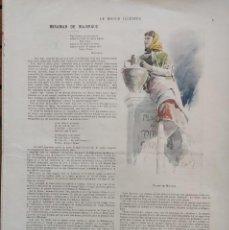 Libros antiguos: MIRAMAR DE MAJORQUE. GASTON VUILLIER. LE MONDE ILLUSTRÉ. PARIS, 1901.COMPLETO. MALLORCA.. Lote 203995525