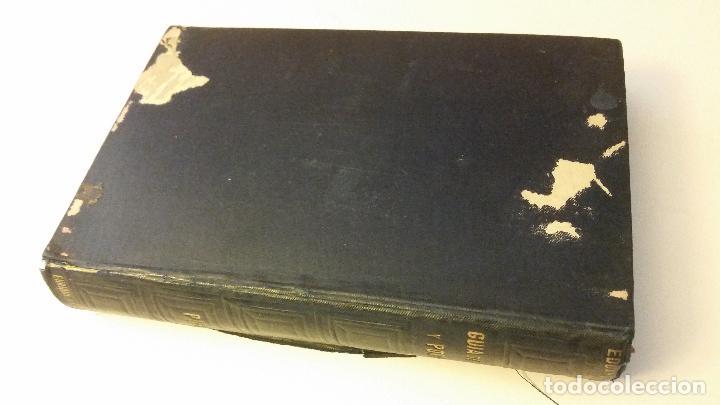 Libros antiguos: 1892 - EDUARDO TODA - Guía de España y Portugal - PLANOS - Foto 2 - 204171812
