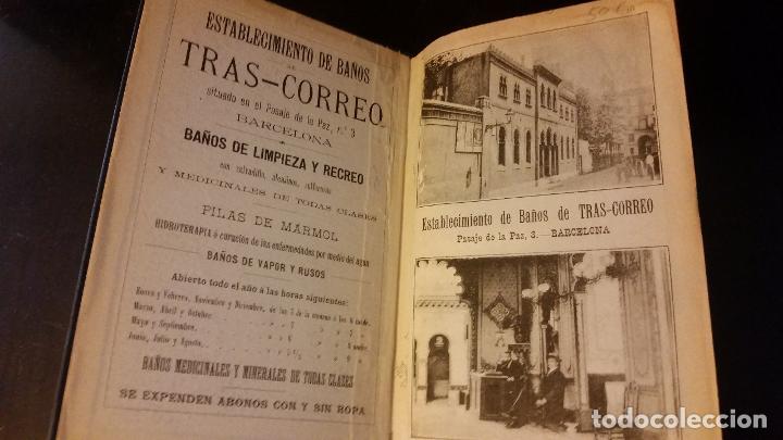 Libros antiguos: 1892 - EDUARDO TODA - Guía de España y Portugal - PLANOS - Foto 3 - 204171812