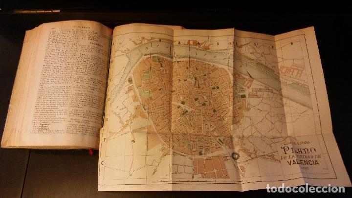 Libros antiguos: 1892 - EDUARDO TODA - Guía de España y Portugal - PLANOS - Foto 7 - 204171812