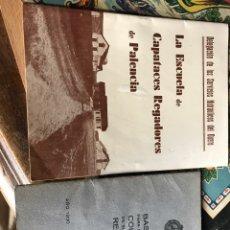 Libros antiguos: CONFEDERACIÓN HIDROGRÁFICA DEL DUERO TRES FOLLETOS AÑOS 30. Lote 204387520